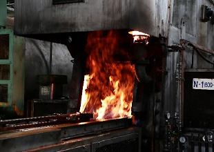 ガス軟窒化炉(油冷)