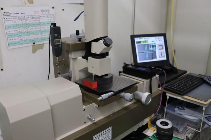 割型コンロッドの内径測定用リングゲージの定期検査